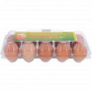 Яйца куриные «Солигорская птицефабрика» Молодецкие, с селеном, СВ, 10 шт