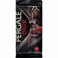 Шоколад черный «Pergale» 72%, 100 г