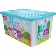 Детский ящик для хранения игрушек «X-Box» Малышарики, 17 л.