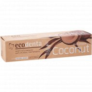 Зубная паста «Ecodenta» organic anti-plaque toothpaste, 100 мл