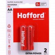 Элементы питания «Hofford» LR 6, АА, 1.5 V, 2 шт.