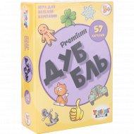 Игра для весёлой компании «ДуББль. Премиум» 57 карточек.