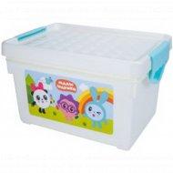 Детский ящик для хранения мелочей «Малышарики» 5.1 л.