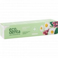 Зубная паста «Ecodenta» sensitivity relief toothpaste, 100 мл
