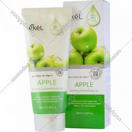 Гель-скатка «Ekel» очищающая с экстрактом зеленого яблока, 100 мл.