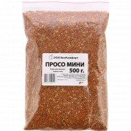 Просо корм для мелких пород птиц «Экокомфорт» мини, 500 г.