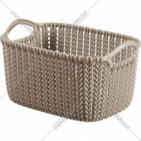 Корзина «Curver» Knit Rect XS, 226169, 3 л