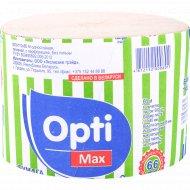 Бумага туалетная «Opti Max» эксклюзив М, 66 м, 1 рулон.