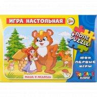 Игра настольная «Маша и медведь».