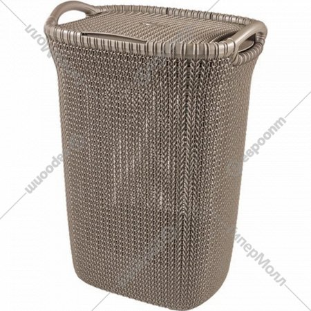 Корзина «Curver» knit laundry hamper, 228410, 57 л, 45x34x61 см.