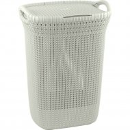 Корзина «Curver» knit laundry hamper, 228391, 57 л, 45x34x61 см.