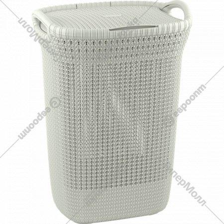 Корзина «Curver» knit laundry hamper, 228391, 57 л, 45x34x61 см.
