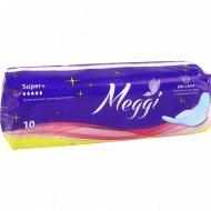 Прокладки женские «Мэгги» супер плюс 10 шт.