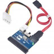 Адаптер HDD SATA-IDE-2 «Gembird» SATA to IDE, IDE to SATA.