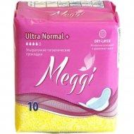 Прокладки женские «Мэгги» Ультра плюс драй 10 шт.