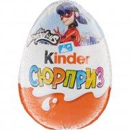 Яйцо шоколадное «Kinder Сюрприз» в ассортименте, для девочек, 20 г.