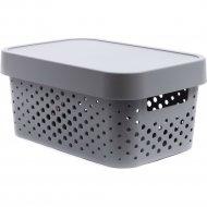 Коробка «Curver» infinity lid dots, 229117, 4,5 л, 270x190x120 мм