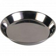 Миска «Trixie» металлическая, для кошек, 0.2 л, диаметр 13 см.