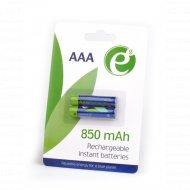 Аккумулятор EG-BA-AAA8R-01 «Gembird» AAA 850mAh Ni-MH 2шт EnerGenie BLISTER.