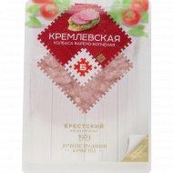 Колбаса варёно-копчёная «Кремлёвская» салями высшего сорта, 90 г.