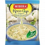 Крем-суп с сыром моцарелла «Мивина» 57.5 г.