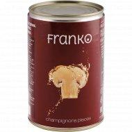 Шампиньоны «Franko» резаные, 400 г.