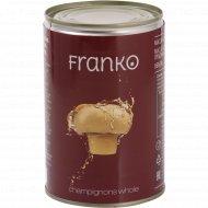 Шампиньоны консервированные «Franko» целые, стерилизованные, 400 г.