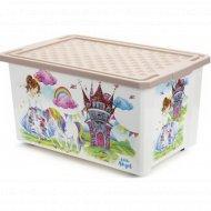 Детский ящик для хранения «Сказочная принцесса» 57л.