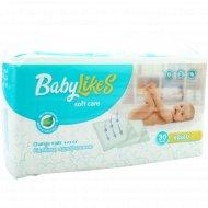 Пеленки детские одноразовые, впитывающие «BabyLikes» 60х60 см, 30 шт.