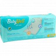 Пеленки детские одноразовые, впитывающие «BabyLikes» 60х90 см, 5 шт.