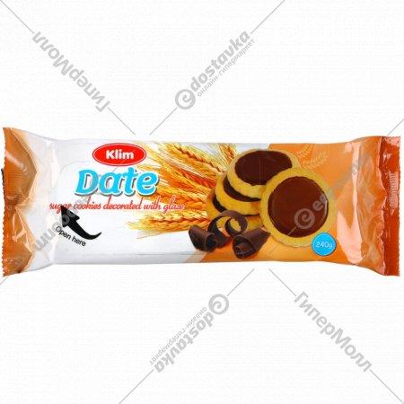 Печенье сахарное «Свидание» 240 г.