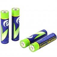 Батарейка EG-BA-AAA4-01 «Gembird» Energenie AAA LR03 1.5V Alkaline 4шт в блистере.