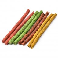 Лакомство для собак «Палочки цветные» 12,5 см.