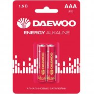 Комплект батареек «Daewoo» Energy, 5029873, 2 шт