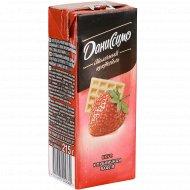 Коктейль молочный «Даниссимо» со вкусом клубничной вафли, 2.5%, 215 г.