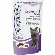 Лакомство для кошек «Bosch» Sanabelle Snack сайда с инжиром, 55 г.