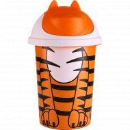 Детская корзина для игрушек «Jungle» оранжевый, 10 л.
