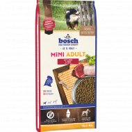 Корм для собак «Бош» мини эдалт ягненок с рисом, 15 кг.