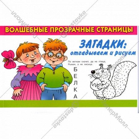Книга «Загадки: отгадываем и рисуем» Дмитриева В.Г.