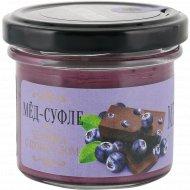 Мед-суфле «Medolubov» с черникой и шоколадом, 100 г