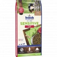 Корм для собак «Bosch» Сенситив, ягненок с рисом, 15 кг.
