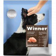 Сухой корм «Winner» для взрослых собак средних пород из курицы, 10 кг.