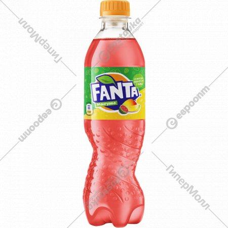 Напиток безалкогольный газированный «Fanta» мангуава, 0.5 л.