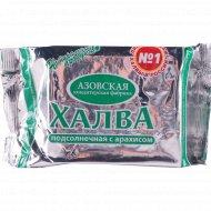Халва подсолнечная «Азовская» с арахисом, 350 г.