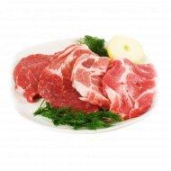 Шейная часть свинины, охлажденная, 1 кг., фасовка 0.7-1.1 кг
