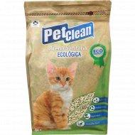 Наполнитель для кошачьих туалетов «Pet Clean Tofu» комкующийся, 2.5 л.