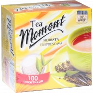 Чай черный «Tea Moment» 100 пакетиков, 130 г.