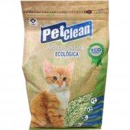 Наполнитель для кошачьих туалетов «Pet Clean Tofu» Зелённый чай, 6 л.
