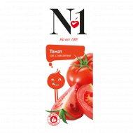 Сок томатный с мякотью «№1» с солью 200 мл.
