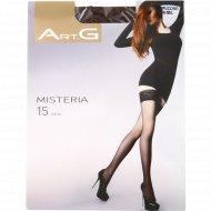 Чулки женские «ArtG» Misteria, 15 den, размер 3-4, capuccino